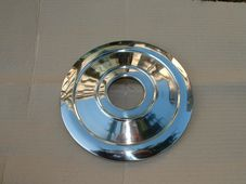 37-1332,  W1332,  Wheel trim,  8 inch 1960-67, stainless steel